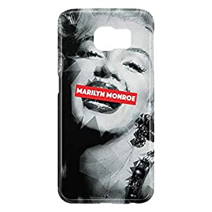 Loud Universe Samsung Galaxy S6 3D Wrap Around Marilyn Monroe Print Cover - Multi Color