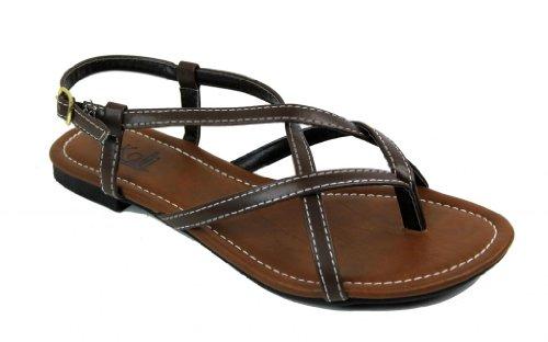 Kali Footwear Women's Novella Strappy Flat Sandals 11