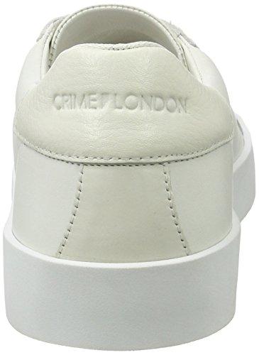 CRIME London Dynamite, Zapatillas para Hombre Blanco (Weiß)