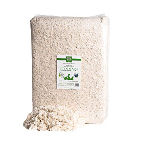 Small Pet Select Unbleached White Paper Bedding, 178 L