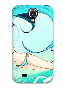 New DJbfZSz5939VTvWw Hatsune Anime Skin Case Cover Shatterproof Case For Galaxy S4