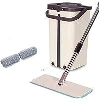 Mopfri handtvätt platt mopp hushåll roterande mopphink set 40 x 23 x 23 cm A