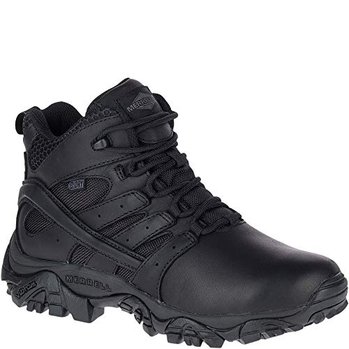 - Merrell Moab 2 Mid Tactical Response Waterproof Boot Women 8 Black