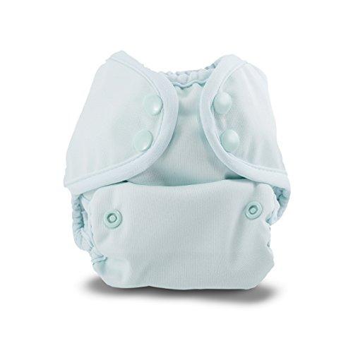 Buttons Cloth Diaper Cover  Newborn Snap (7-12lbs) (Sea Breeze)