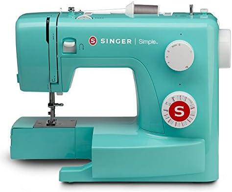 Singer | Simple 3223G Handy máquina de Coser Que Incluye 23 Puntos Integrados, tensión Ajustable, fácil selección de Puntadas, Bobina de Bobina integrada y fácil de enhebrar: Amazon.es: Hogar