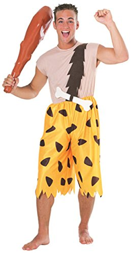 Rubie's Men's The Flintstones Bamm-Bamm Adult Costume,