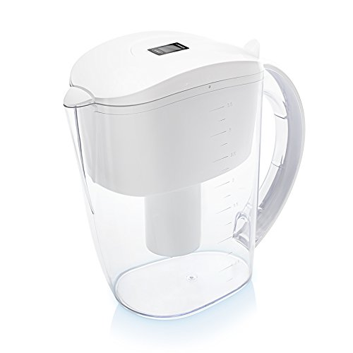 Remplacement PureAire 1 Cartouche Blanc Wessper Carafe filtrante Pichet Filtre /à Eau alcaline 3,5L
