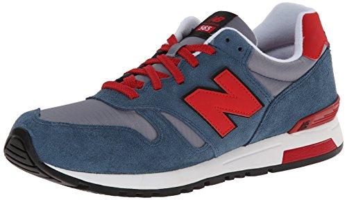888546361058 - New Balance Men's Ml565 Lifestyle Running Shoe,Blue/Red, 10.5 D US carousel main 0