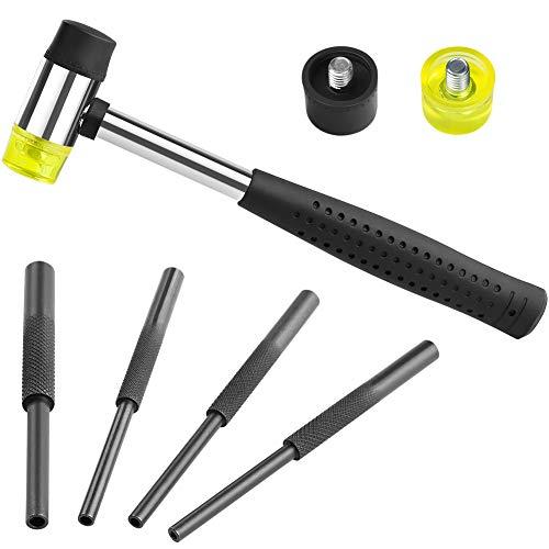 Feyachi AR-15 Assembly Tool - Hammer & Roll Pin Starter Punch Set for Gunsmithing