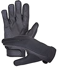 Neoprene Police Search Shooting Tactical Gloves (Medium)