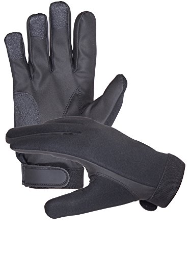 Neoprene Police Search Shooting Tactical gloves (Extra Large) by Sparx Sports