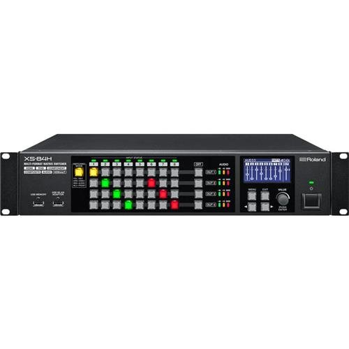 S-video Matrix Switcher - Roland XS-84H 8x4 Multi-Format AV Matrix Switcher