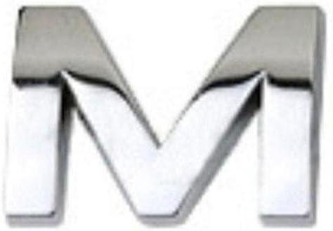 R TR.OD DIY 3D Metallic Alphabet Sticker Car Emblem Letter Silver Badge Decal A-Z/&0-9