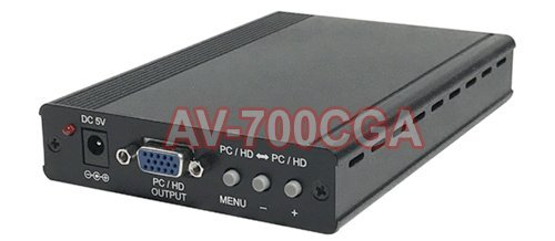 (Component Video RGB CGA VGA To VGA Component Video Scaler)
