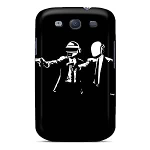 Galaxy S3 TSx6482Kqnj Daft Punk Pulpfiction Tpu Silicone Gel Cases Covers. Fits Galaxy S3