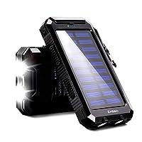20000mAh Solar Power Bank Solar Charger ...