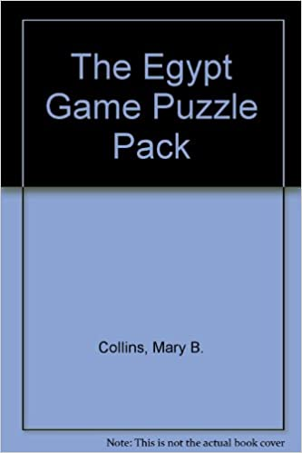 The Egypt Game Puzzle Pack - Teacher Lesson Plans, Activities ...