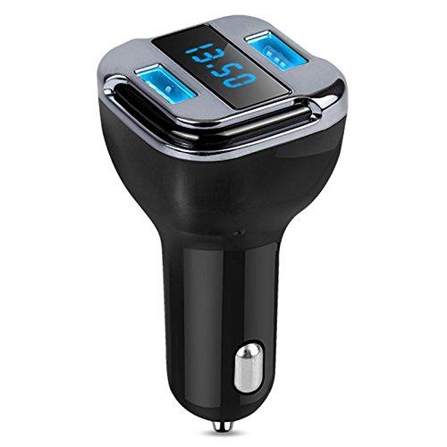 Chargeur de Voiture avec Localisateur Intelligent Port de Charge USB 5V 4.2A Lecteur mp3 Nrpfell Transmetteur FM Bluetooth Kit de Voiture sans Fil de Voiture dadaptateur de Radio