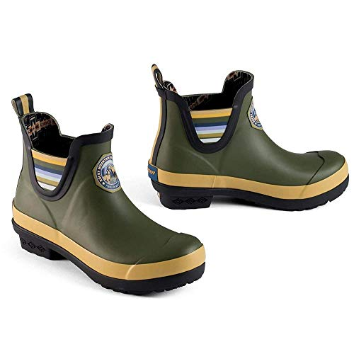 Mountain Boot Womens Ankle - Pendleton Heritage National Park Chelsea Boot - Women's Rocky Mountain/Olive, 10.0