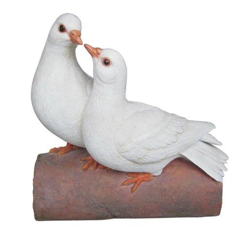(Hi-Line Gift Ltd Two Doves on Log Figurine)