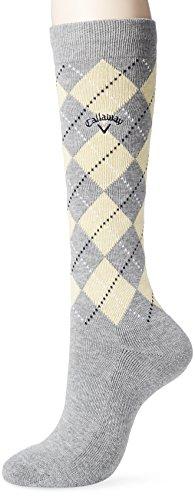 (キャロウェイ アパレル) Callaway Apparel [ レディース] 防菌 防臭 ハイソックス (機能素材ドラロン) / 241-8185806 / かわいい 靴下 ゴルフ