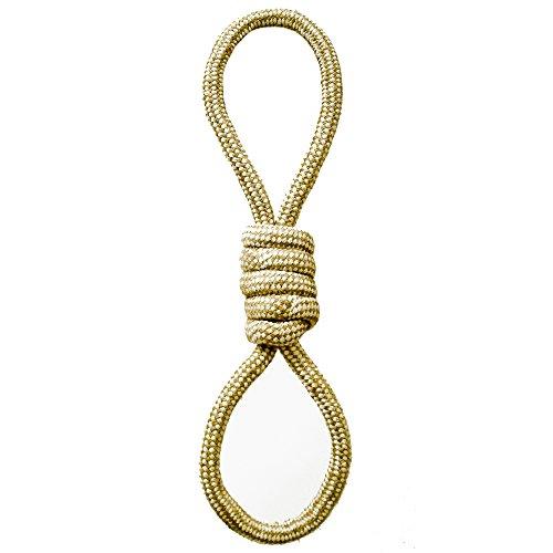 - Blue Ribbon Tug-O-Rope Cambric Rope Figure Eight Tug Dog Toy