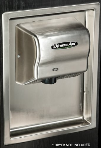 American Dryer ADA-RK 1 Piece Recess Kit, For Extremeair and Global Series Hand Dryers