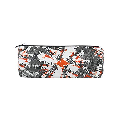 Pencil Case Ikat Charcoal Pen Bag- ChunBB Stationery Pouch Makeup Cosmetic Holder for School Office