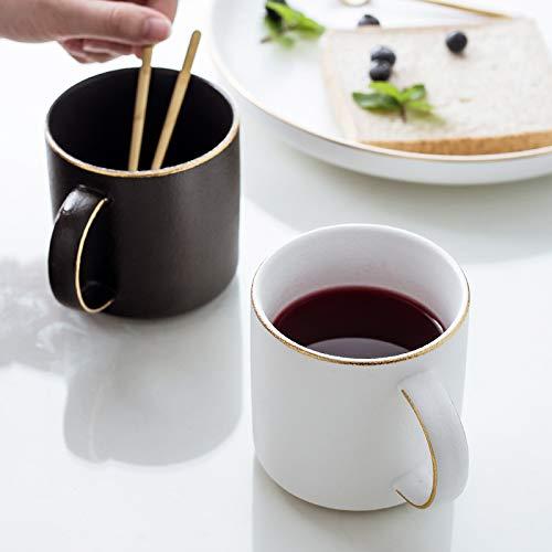 Nordic frosted mug ceramic coffee mug cup simple household matt glass wholesale custom logo