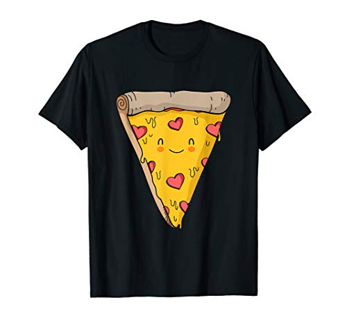 Pizza Love I'm Pizza Halloween Costume gift Funny Pizza  T-Shirt]()