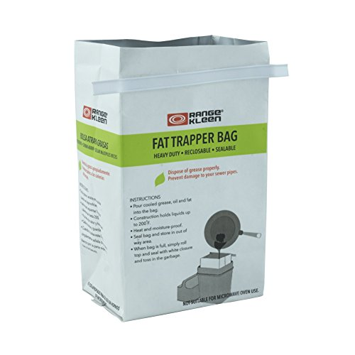 Price comparison product image 600-02 Trap the Grease: Fat Trapper System with 2 Grease Disposable Bags Range Kleen