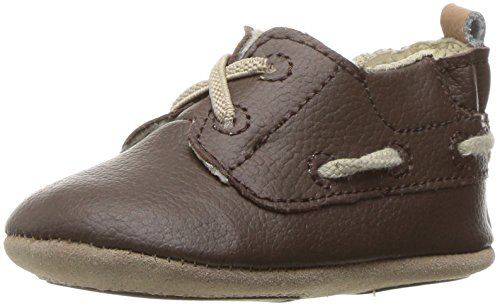 Robeez Boys' Jon Loafer Taupe, 12-18 Months M US - Robeez Shoes Athletic