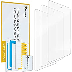 "Mr Shield For Amazon New - Fire Tablet 7"" 7 Inch (5th Generation - 2015 Release) Anti-Glare [Matte] Screen Protector [3-PACK] with Lifetime Replacement Warranty"