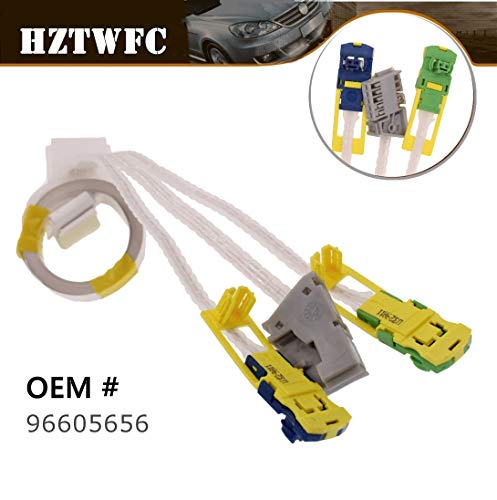 HZTWFC New Replace Wire Compatible for Com 2000 Peugeot 206 307 C5 Renault OEM# 96605656
