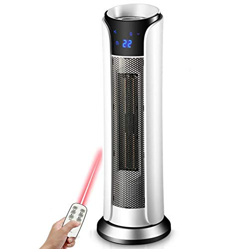 YL-Light Termoventiladores Calefactor Vertical Calentador doméstico Sacudir la Cabeza Calentador eléctrico Calentador...