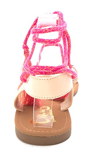 Binx by 5 Natural Circus Open Casual Naked Fabric Sandals Womens Sam Edelman Toe Slide wIBwXdqH