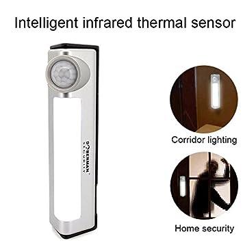 symboat Detector de Alarma de Detector de Movimiento de Alarma de Seguridad en casa con la
