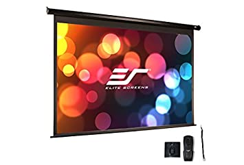 Elite Screens Electric84V - Pantalla para proyector (8,8 kg, Negro ...