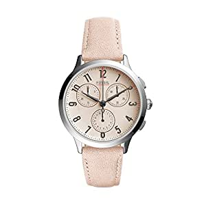 Fossil Women's CH3088 Abilene Sport Chronograph Blush Leather Watch