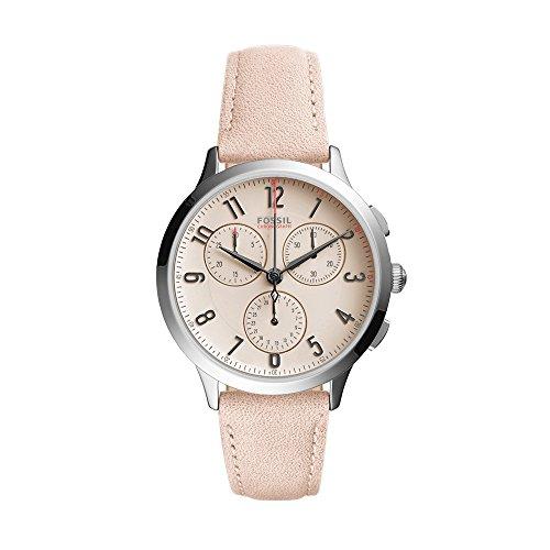 (Fossil Women's CH3088 Abilene Sport Chronograph Blush Leather Watch)