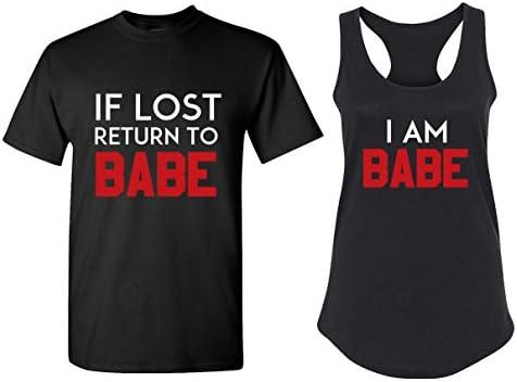 Funny Matching Couple Shirts Racerback product image