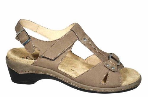 Semler - Sandalias de Vestir de cuero nobuck Hombre