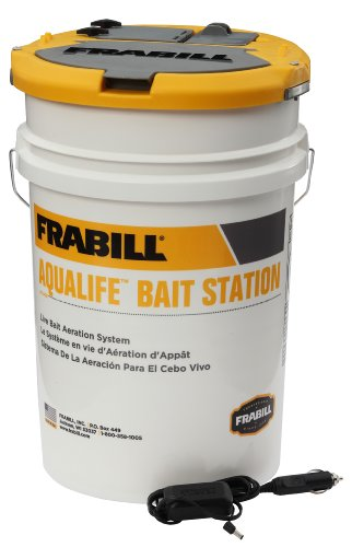 Frabill 1469 Aqua-Life Bait Station, 6-Gallon by Frabill