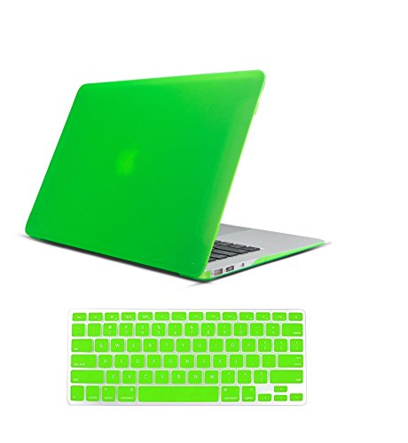 Raidfox MacBook Air 13 Accessories 2-in-1 Plastic Hard Case and Soft Silicone Keyboard Cover for Apple Mac Book Air 13.3