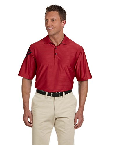 adidas Golf Mens ClimaCool Mesh Polo A133 -POWER RED/BL M
