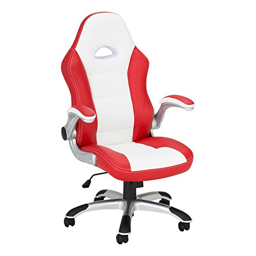 41d1NQ84 SL - Method-Computer-Gaming-and-Office-Chair-by-SkyLab-Performance-Seating-FC-WhiteRed