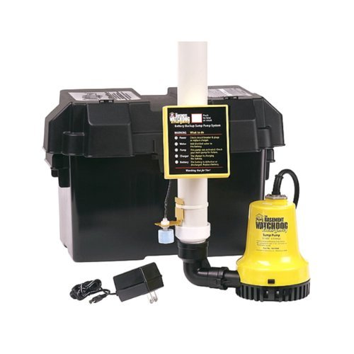 Basement Watchdog BWE 1000 Gallons Per Hour Basement Watchdog Emergency Back-Up Sump - Sump Pump Emergency Backup