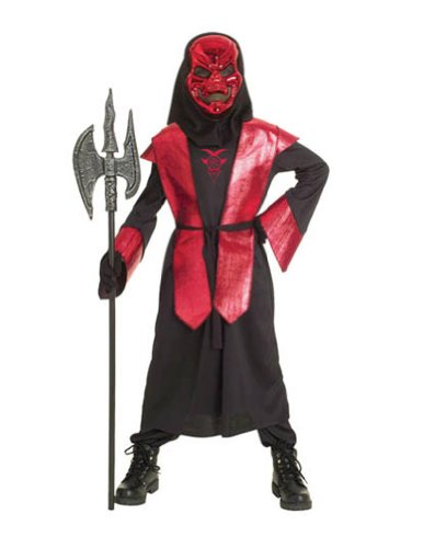 Halloween 10 Group Of Costumes (Paper Magic Group Demons of Metal Warlord-3 Boy's Costume, Large)