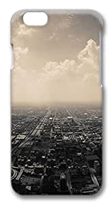 iphone 6 4.7inch Case Cloudy Suburbs City PC Hard Plastic Case for iphone 6 4.7inch