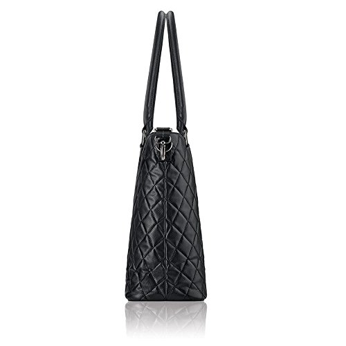 Solo Waldorf Tote with 15.6 Inch Laptop Compartment, Black by SOLO (Image #5)